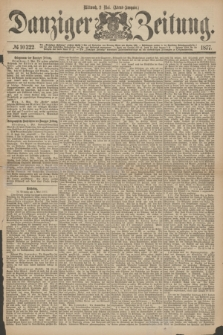Danziger Zeitung. 1877, № 10322 (2 Mai) - (Abend=Ausgabe.)