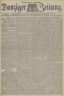 Danziger Zeitung. 1877, № 10644 (8 November) - (Abend=Ausgabe.) + dod.