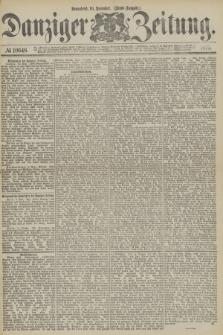 Danziger Zeitung. 1877, № 10648 (10 November) - (Abend=Ausgabe.) + dod.