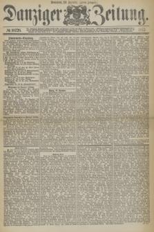 Danziger Zeitung. 1877, № 10728 (29 Dezember) - (Abend=Ausgabe.) + dod.
