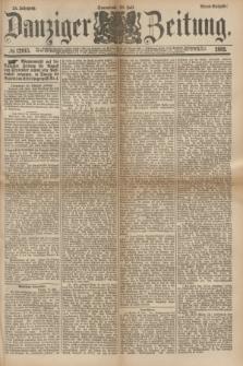 Danziger Zeitung. Jg.24, № 12915 (30 Juli 1881) - Abend=Ausgabe.