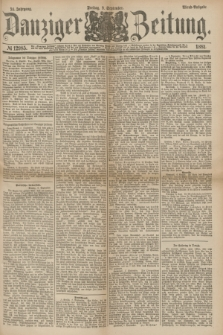 Danziger Zeitung. Jg.24, № 12985 (9 September 1881) - Abend=Ausgabe.