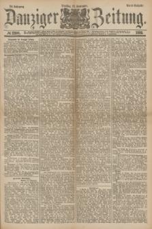 Danziger Zeitung. Jg.24, № 12991 (13 September 1881) - Abend=Ausgabe.