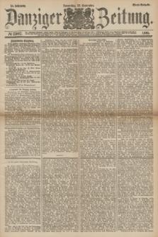 Danziger Zeitung. Jg.24, № 13007 (22 September 1881) - Abend=Ausgabe.