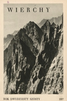 Wierchy : rocznik poświęcony górom. R.26, 1957