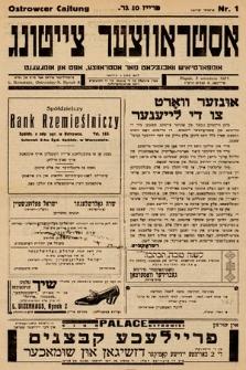 Ostrowcer Cajtung. 1937, nr1