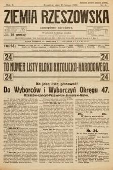 Ziemia Rzeszowska : czasopismo narodowe. 1928, nr6