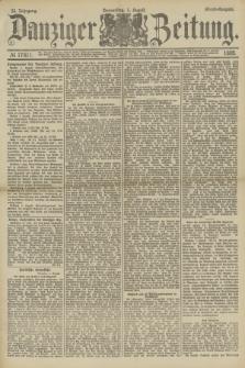 Danziger Zeitung. Jg.32, № 17811 (1 August 1889) - Abend-Ausgabe.
