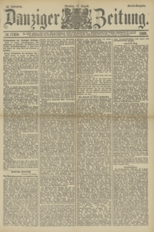 Danziger Zeitung. Jg.32, № 17829 (12 August 1889) - Abend-Ausgabe.