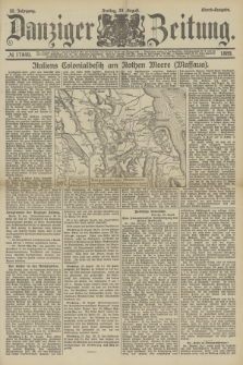 Danziger Zeitung. Jg.32, № 17849 (23 August 1889) - Abend-Ausgabe.