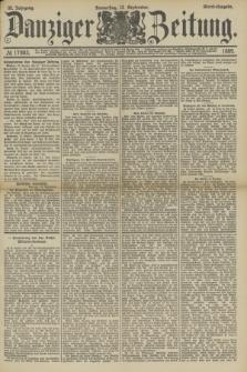 Danziger Zeitung. Jg.32, № 17883 (12 September 1889) - Abend-Ausgabe.