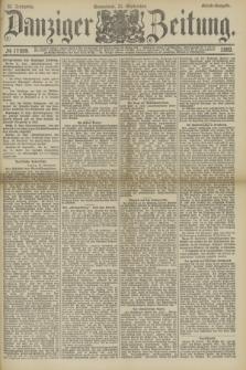 Danziger Zeitung. Jg.32, № 17899 (21 September 1889) - Abend-Ausgabe.
