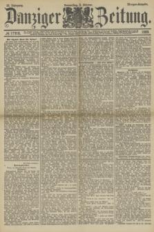Danziger Zeitung. Jg.32, № 17918 (3 Oktober 1889) - Morgen-Ausgabe.