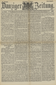 Danziger Zeitung. Jg.32, № 17923 (5 Oktober 1889) - Abend-Ausgabe. + dod.