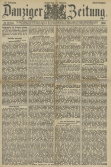 Danziger Zeitung. Jg.33, № 18153 (20 Februar 1890) - Abend-Ausgabe.