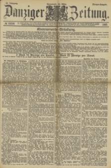 Danziger Zeitung. Jg.33, № 18204 (22 März 1890) - Morgen-Ausgabe.