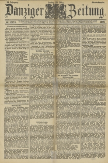 Danziger Zeitung. Jg.33, № 18215 (28 März 1890) - Abend-Ausgabe. + dod.