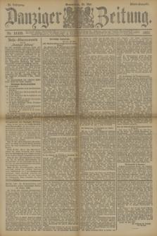 Danziger Zeitung. Jg.33, Nr. 18305 (24 Mai 1890) - Abend-Ausgabe.