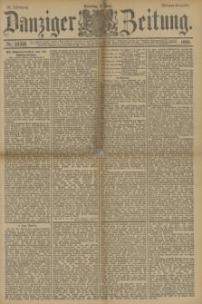 Danziger Zeitung. Jg.33, Nr. 18328 (8 Juni 1890) - Morgen-Ausgabe. + dod.