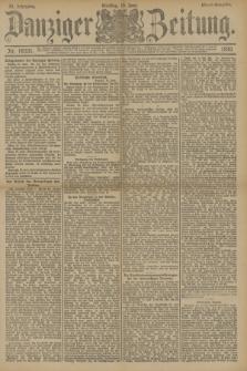 Danziger Zeitung. Jg.33, Nr. 18331 (10 Juni 1890) - Abend-Ausgabe.