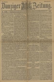 Danziger Zeitung. Jg.33, Nr. 18339 (14 Juni 1890) - Abend-Ausgabe.