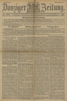Danziger Zeitung. Jg.33, Nr. 18346 (19 Juni 1890) - Morgen-Ausgabe.