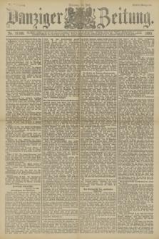 Danziger Zeitung. Jg.33, Nr. 18389 (14 Juli 1890) - Abend-Ausgabe.