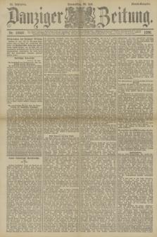 Danziger Zeitung. Jg.33, Nr. 18407 (24 Juli 1890) - Abend-Ausgabe.
