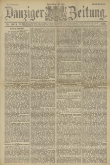 Danziger Zeitung. Jg.33, Nr. 18419 (31 Juli 1890) - Abend-Ausgabe.