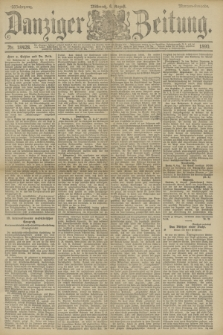 Danziger Zeitung. Jg.33, Nr. 18428 (6 August 1890) - Morgen-Ausgabe.