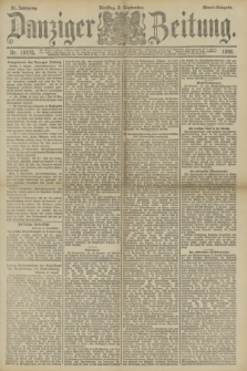 Danziger Zeitung. Jg.33, Nr. 18475 (2 September 1890) - Abend-Ausgabe.