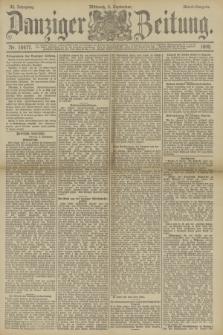Danziger Zeitung. Jg.33, Nr. 18477 (3 September 1890) - Abend-Ausgabe.