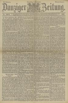 Danziger Zeitung. Jg.33, Nr. 18478 (4 September 1890) - Morgen-Ausgabe.