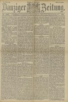 Danziger Zeitung. Jg.33, Nr. 18487 (9 September 1890) - Abend-Ausgabe.