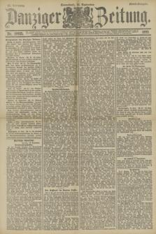 Danziger Zeitung. Jg.33, Nr. 18495 (13 September 1890) - Abend-Ausgabe.