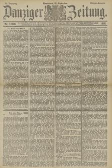 Danziger Zeitung. Jg.33, Nr. 18506 (20 September 1890) - Morgen-Ausgabe.