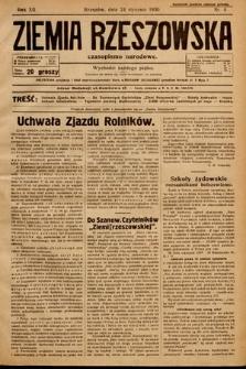 Ziemia Rzeszowska : czasopismo narodowe. 1930, nr4