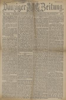 Danziger Zeitung. Jg.33, Nr. 18535 (7 Oktober 1890) - Abend-Ausgabe. + dod.