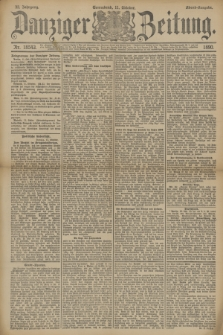 Danziger Zeitung. Jg.33, Nr. 18543 (11 Oktober 1890) - Abend-Ausgabe.
