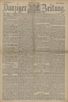 Danziger Zeitung. Jg.33, Nr. 18545 (13 Oktober 1890) - Abend-Ausgabe. + dod.