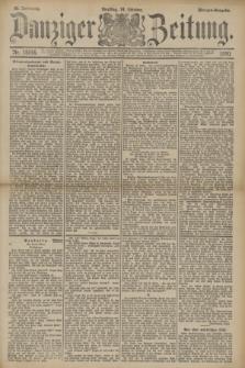 Danziger Zeitung. Jg.33, Nr. 18546 (14 Oktober 1890) - Morgen-Ausgabe.