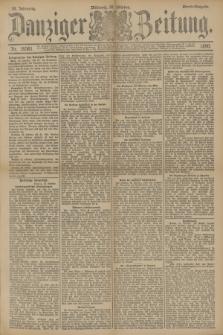 Danziger Zeitung. Jg.33, Nr. 18561 (22 Oktober 1890) - Abend-Ausgabe.