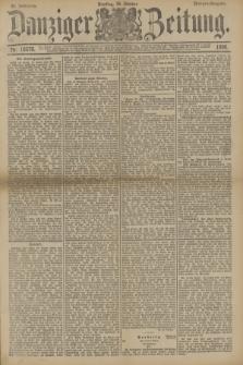 Danziger Zeitung. Jg.33, Nr. 18570 (28 Oktober 1890) - Morgen-Ausgabe.