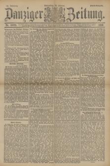 Danziger Zeitung. Jg.33, Nr. 18575 (30 Oktober 1890) - Abend-Ausgabe.