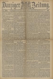 Danziger Zeitung. Jg.33, Nr. 18583 (4 November 1890) - Abend-Ausgabe. + dod.