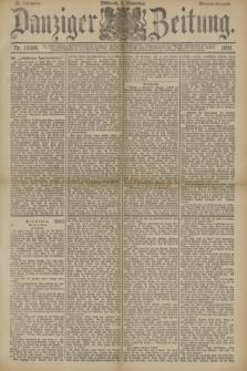 Danziger Zeitung. Jg.33, Nr. 18584 (5 November 1890) - Morgen-Ausgabe.