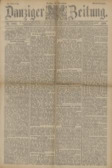 Danziger Zeitung. Jg.33, Nr. 18601 (14 November 1890) - Abend-Ausgabe. + dod.