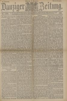 Danziger Zeitung. Jg.33, Nr. 18608 (19 November 1890) - Morgen-Ausgabe.
