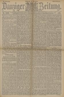 Danziger Zeitung. Jg.33, Nr. 18609 (19 November 1890) - Abend-Ausgabe. + dod.