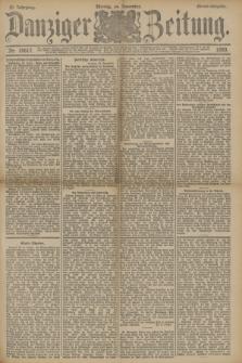Danziger Zeitung. Jg.33, Nr. 18617 (24 November 1890) - Abend-Ausgabe. + dod.